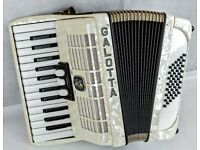 Galotta 48 Bass Accordion - 2 Voice - Made in Germany