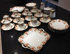 VINTAGE FINE CHINA 48 PIECES LOVELY CONDITION