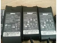 Job lot off dell and 1 lenova laptop charger