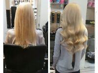 £169 HAIR EXTENSIONS all methods £169- we come to you or Come to Salon