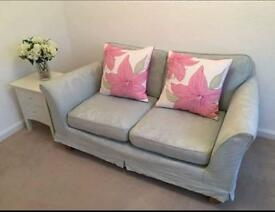 Marks and spencer duck egg sofa £300ono