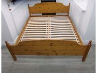 IKEA EUROPEAN KING SIZE WOODEN BED FRAME 160x200cm