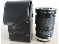 TAMRON SP 28-80mm f3.5-4.2 CF MACRO BBAR MC LENS - CANON FD BAYONET MOUNT + CASE £25