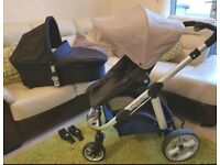 iCandy Apple to Pear pram and carrycot