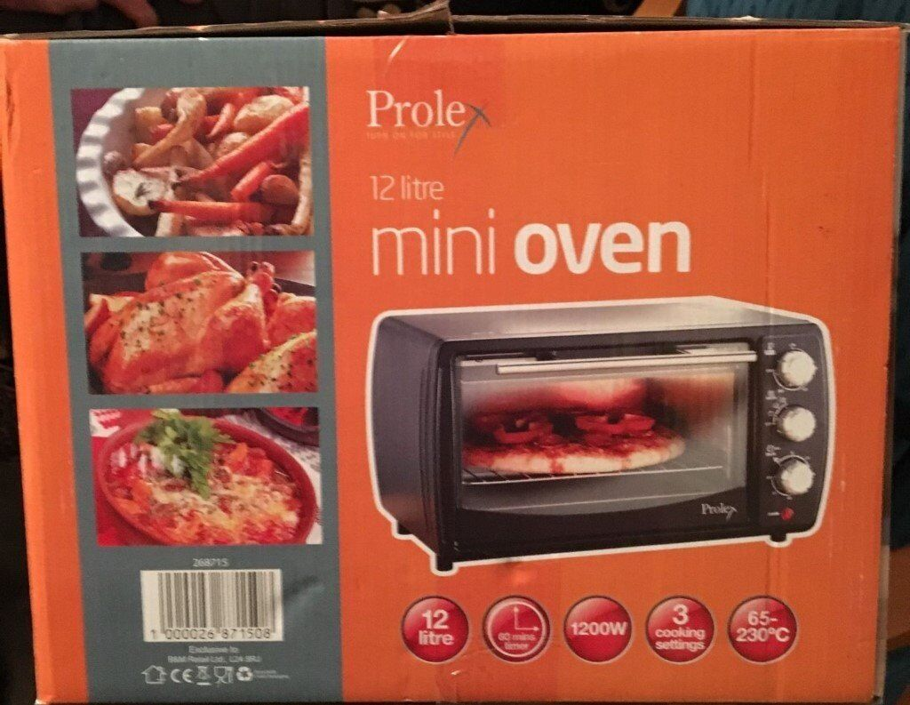 Cooks Brand Kitchen Appliances Mini Oven Brand New Sturdy Versatile Appliance Cooks Roasts