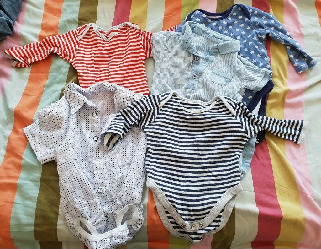 0bcbc5ebe6fc Large bundle of 30+ baby boys 9-12 months clothes for sale