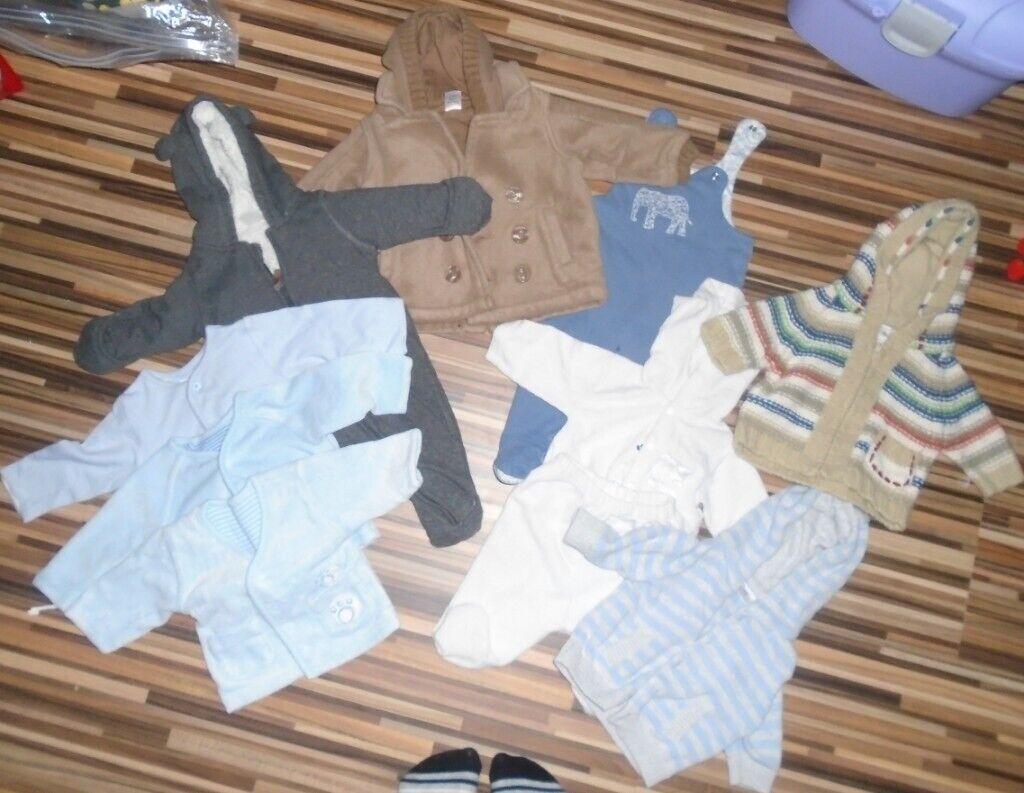 1aaad565565e baby boy bundle 0-3 months