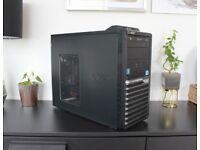 Desktop PC 3.4GHz Quad Core i5, GTX 550Ti, SSD, 8GB RAM, Win10