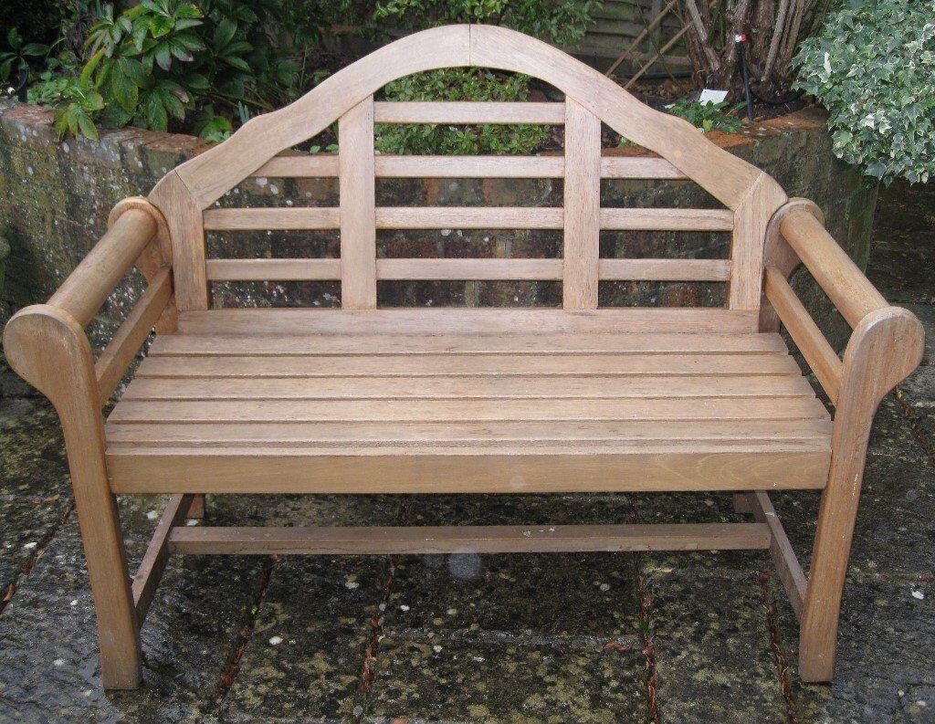 Lutyens Style Garden Bench In Finchampstead Berkshire