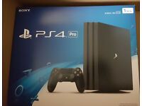 PS4 Pro 1TB Brand New Part Exchange with your old Ps4 & get it for £199.99 or less