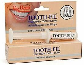 Tooth-fil Temporary Fillings (New, Sealed)
