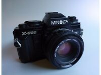 Minolta X700 MPS with 50mm prime lens