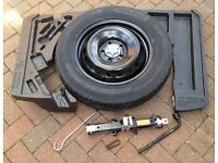 Nissan Qashqai Space Saver Wheel Kit with Tyre (2014 and on)