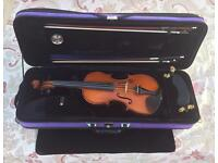 Gliga Gems 1 1/2 size violin complete outfit