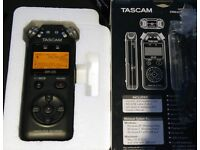 Tascam DR-05 portable recorder v2 as new
