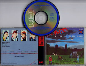 MR-MISTER-Welcome-To-The-Real-World-original-1985-US-10-track-CD-made-in-Japan
