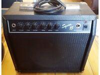 Squier 15 . 15 watt Guitar Combo Amp