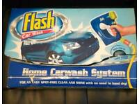 Flash car wash system