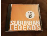 Suburban Legends CDs - Self-Titled Album & Let's Be Friends and Slay the Dragon Together (Signed)