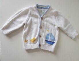 John lewis baby cardigan 0-3 months