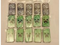Job Lot - Minecraft 66x iPhone Cases Various Designs for iphone 4 4S & iphone 5 5S