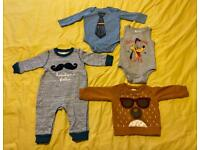 Baby boy 6-12/9-12 months clothes bundle