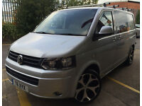 vw transporter campervan looks and drives spot on low miles fsh stunning van px ?