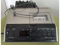Transcription/Dictation machine (Sanyo)