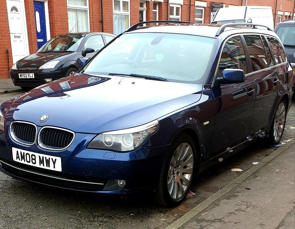 2008 bmw 520d automatic  full service history   in Manchester City Centre,  Manchester   Gumtree