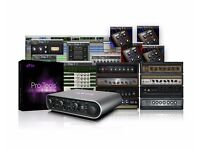 Avid MBOX 3 with Pro Tools 12 + Plugins (license transfer)