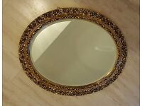 Oval mirror, 60x52
