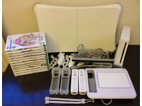 Nintendo wii console bundle lot package