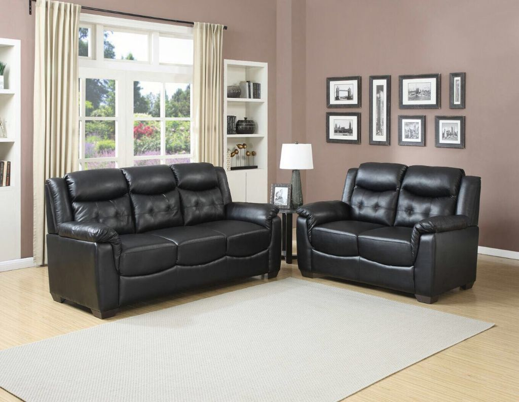 EXPRESS DELIVERY *** BRAND NEW SALLY 3+2 BONDED LEATHER