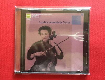 Annlies Schmidt de Neveu-Unissued Recordings Vol. 2 JAPAN PROMO CD