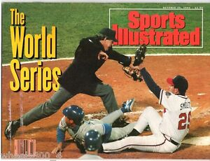 Sports-Illustrated-1992-World-Series-Atlanta-Braves-Toronto-Blue-Jays-No-Label