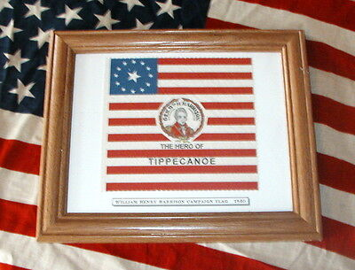 13 star Flag, President William Henry Harrison Campaign Flag of 1840