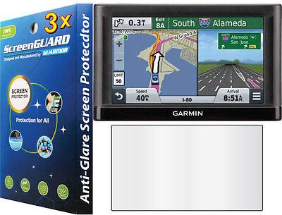 3X Anti Glare Lcd Screen Protector Garmin Nuvi 67 67Lm 67Lmt 68 68Lm 68Lmt Gps