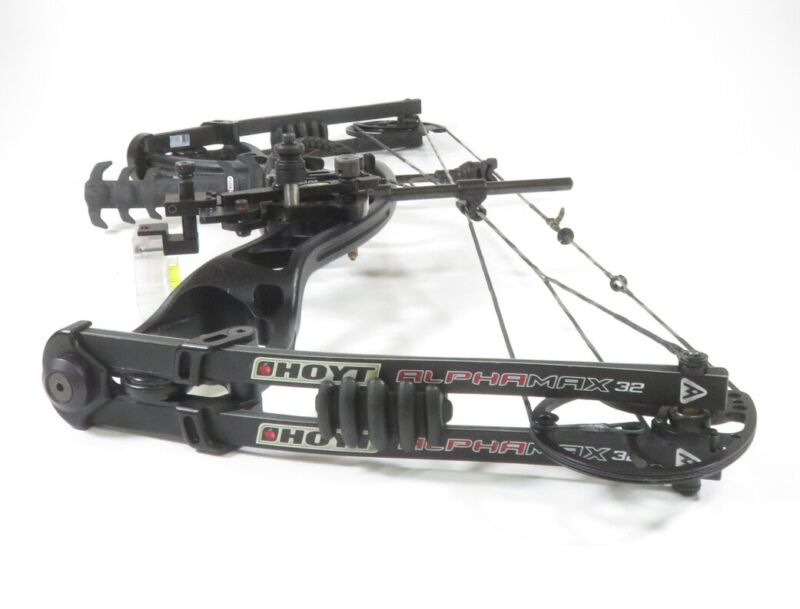 """Hoyt AlphaMax 32 Compound Hunting Bow - Right-Handed, XTR Cam, 26-30"""", 40-80lbs"""