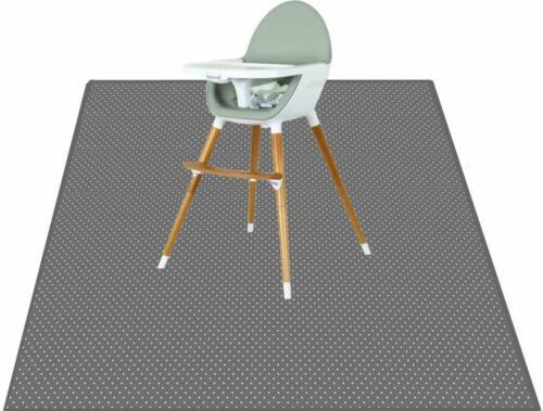 Splat Mat for Under High Chair - Splash Mat | Washable & Water Resistant |