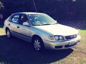 2001 Toyota Corolla 5d hatch Auto Mount Hutton Lake Macquarie Area Preview