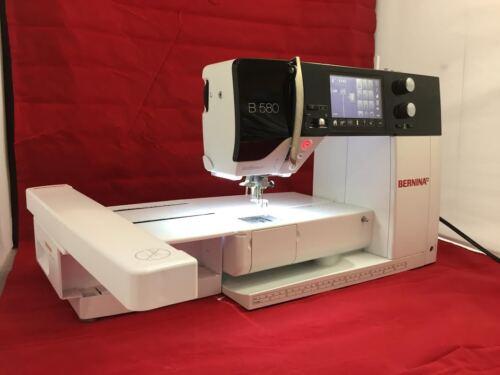 Bernina 580 Sewing & Embroidery Machine+BSR Stitch Regulator Mint Condition