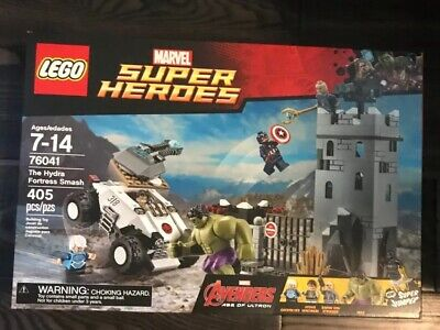 Lego Marvel Super Heroes 76041 Hydra Fortress Smash ! Brand New