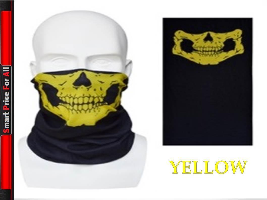 Face Warmer Mask Neck Tube Scarf Biker Ski Snood Balaclava Bandana NAVY BLUE