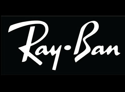 Ray Ban Sunglasses vinyl window decals. car, mirror, toolbox  (Ray Ban Sticker)