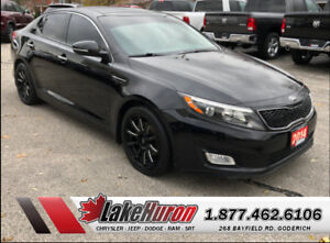 2014 Kia Optima EX w/Sunroof *LEATHER*