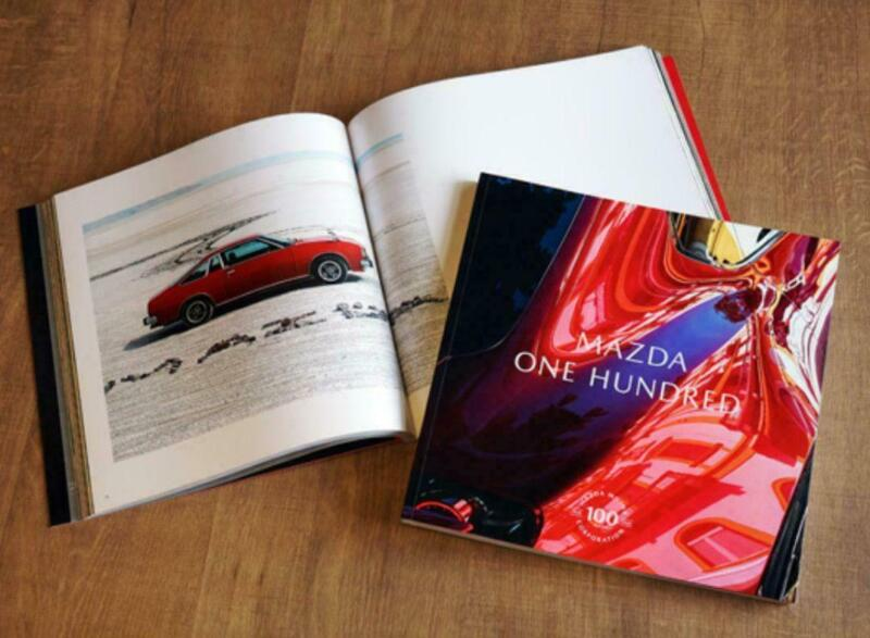 """Mazda Official 100th Anniversary Photobook """"ONE HUNDRED"""""""