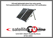 120 Watt Folding Solar Panel East Bunbury Bunbury Area Preview
