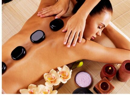 Swedish relaxation and hot stones massage