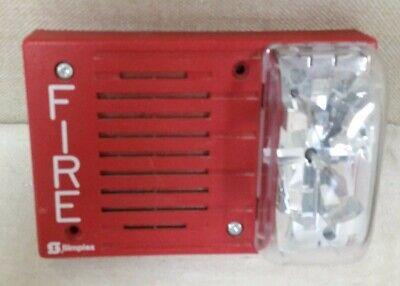 Simplex 4903-9200 Hornstrobe 24vdc 15cd Red