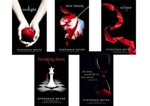 Stephenie Meyer TWILIGHT SAGA COLLECTION 5 BOOK Set
